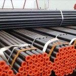 Large Diameter ASTM A53 Black Steel Pipe Mill