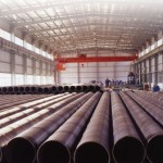 762mm Carbon Spiral Pipe