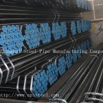 EN10255 Black Seamless Pipe