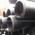 EN10219 Carbon Steel Pipe With Hot Rolled